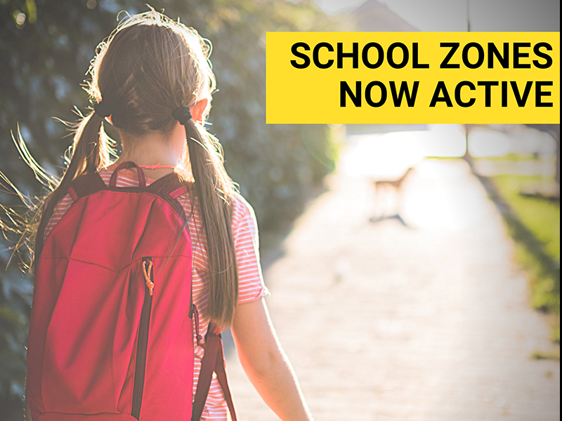 School Zones Active web