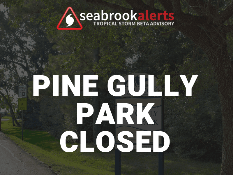 Pine Gully Park Closed  - FB