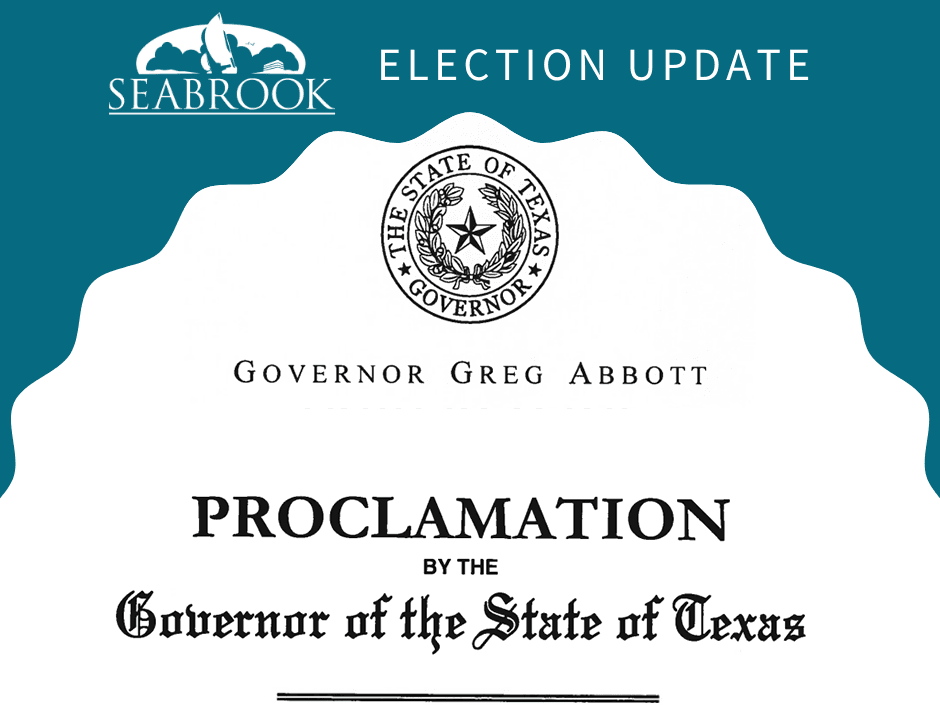 Governor Abbott Voting Security Proclamation