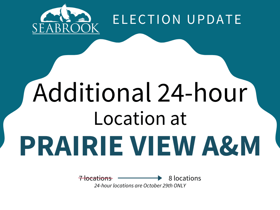 New 24-Hour Voting Location at Prairie View A&M
