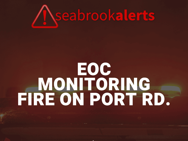 Monitoring Fire on Port Rd