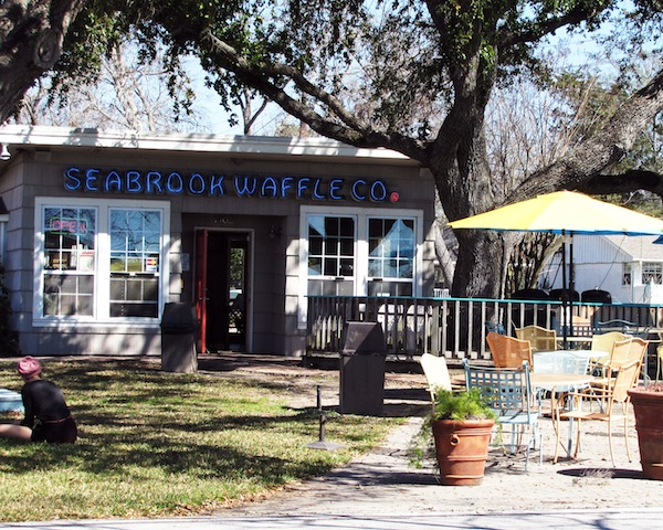 Seabrook Waffle store front
