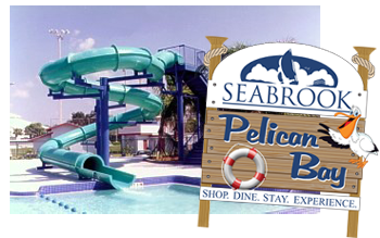 Pelican Bay front sign graphic