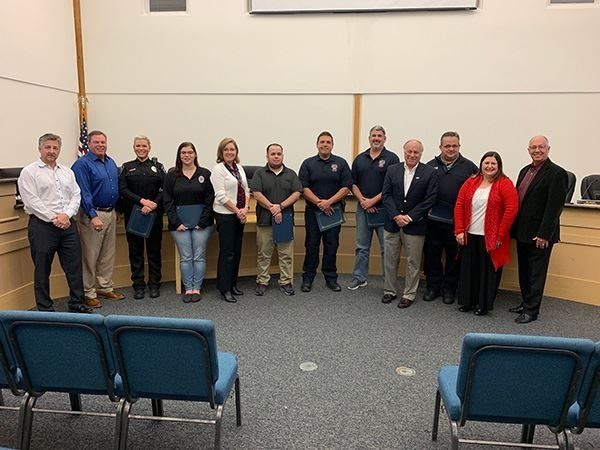 Seabrook EMS Life Saving Award Presentation
