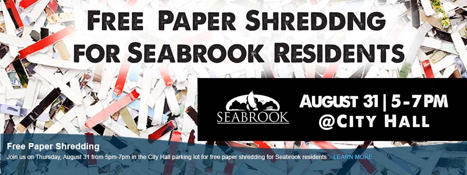 Free Paper Shredding