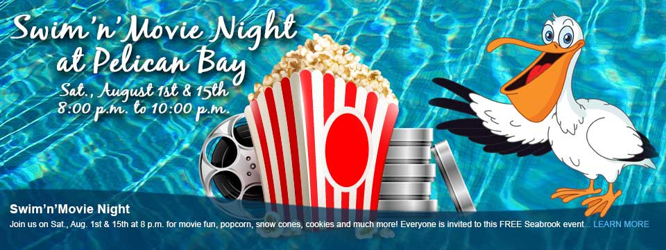 Movie Night at the Pool