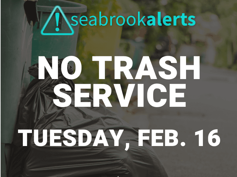 trash service update