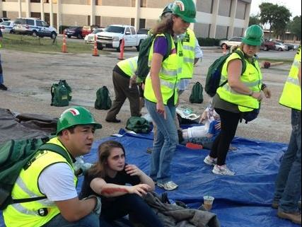 BayCERT Shelter Disaster Drill