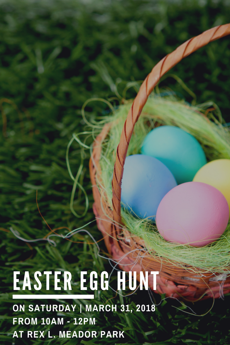Easter Egg Hunt - Website Graphic