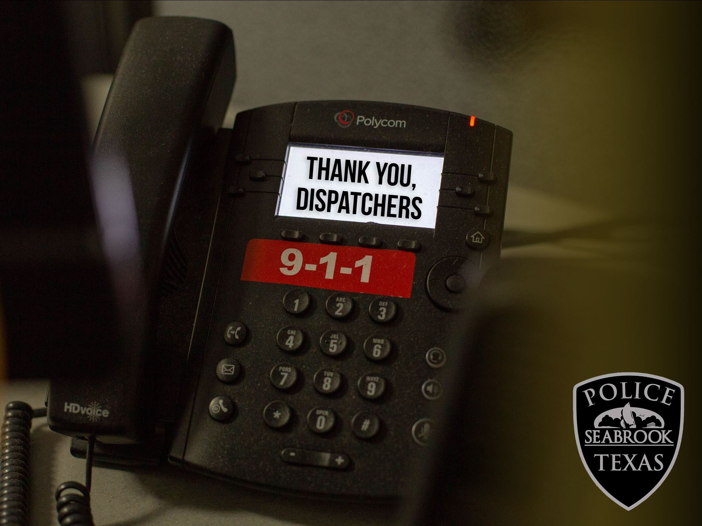 Thank you Dispatchers Phone 2019