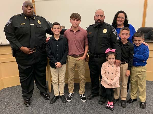 Promotion of Officer Fernando Rodriguez