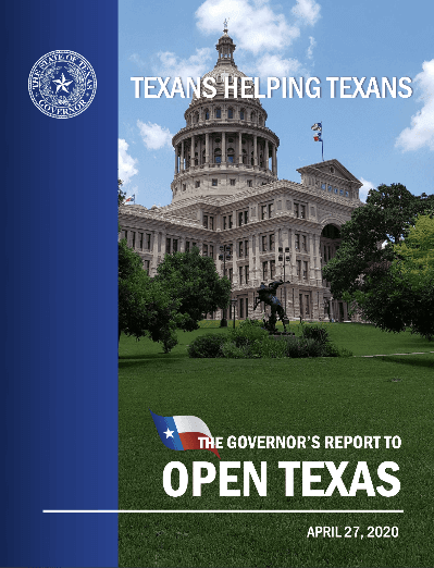 Texans Helping Texas Book Cover Image Opens in new window